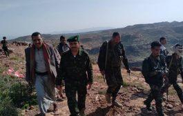 نجاة قائد عسكري واصابة ٤ من أفراده في الضالع
